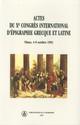 Actes du Xe congrès international d'épigraphie grecque et latine