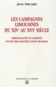 Annexe II. Mouvements dans les campagnes limousines