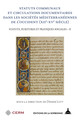 Il ruolo delle universitates nella produzione normativa in Sicilia, secoli XIV-XV