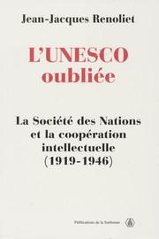 L'UNESCO oubliée