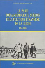 Le Parti social-démocrate suédois et la politique étrangère de la Suède