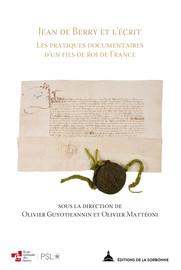 Le corpus des actes de Jean de Berry