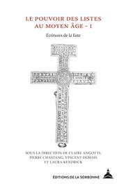 La liste médiévale: une technique matérielle et cognitive