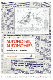 Autonomie, autonomies
