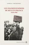 Les manifestations de rue en France