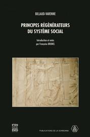Principes régénérateurs du système social