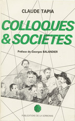 Colloques & sociétés