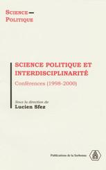 Science politique et interdisciplinarité