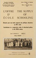 L'offre d'école
