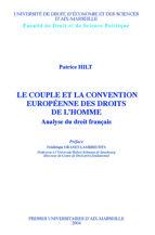 Le couple et la convention européenne des droits de l'homme
