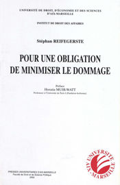 Chapitre I. Applications communes de l'obligation de minimiser le dommage
