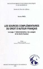 Les sources complémentaires du droit d'auteur français