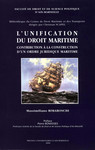 L'unification du droit maritime