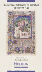 Les genres littéraires en question au Moyen Âge