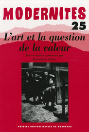 La valeur comme question