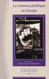 Gallos rojos, la chanson politique en Espagne pendant le franquisme et la transition.1
