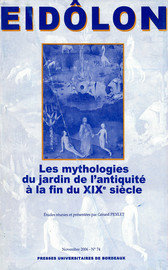 Entre savoirs et imagination: esthétique et symbolique du jardin dans les représentations édéniques de Du Bartas
