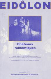 Joseph von Eichendorff et Das Schloss Dürande ou «la fin» du château romantique?