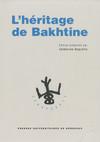 L'Héritage de Bakhtine
