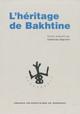 Notices. L'entourage de M. M. Bakhtine (présenté par ordre d'importance)