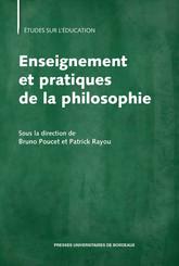 Enseignement et pratiques de la philosophie
