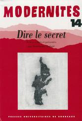Dire le secret