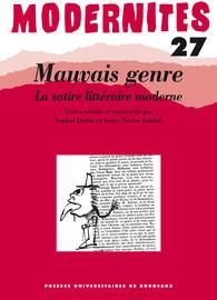 Mœurs et satire chez Balzac (1829-1831)