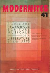 Écriture picturale et écriture musicale de la littérature et des arts