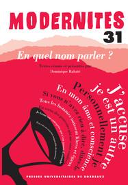La parole déléguée de la littérature contemporaine ou la solidarité par énonciation : un entretien avec François Bon