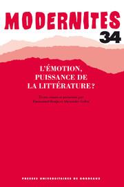 L'émotion, puissance de la littérature