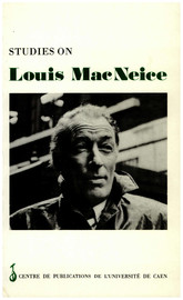 Studies On Louis Macneice Louis Macneice Aspects Of His