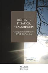 Héritage, filiation, transmission