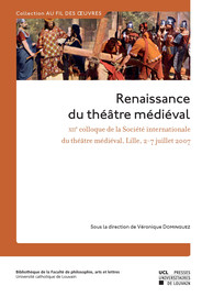 The Brechtian dimensions of Medieval Drama