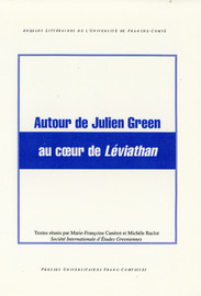 Autour de Julien Green au cœur de Léviathan