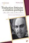 Traduction littéraire et création poétique