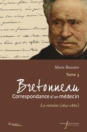 No422. D'Armand Trousseau à Pierre-Fidèle Bretonneau 1850, 23 novembre. – [Paris]