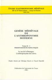 L'anthroponymie bretonne1
