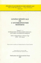 Genèse médiévale de l'anthroponymie moderne. TomeV-1: Intégration et exclusion sociale, lectures anthroponymiques