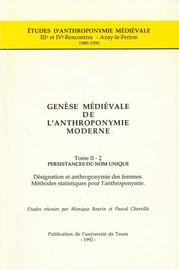 Anthroponymie et désignation des femmes dans les cartulaires de Grenoble