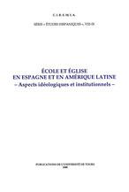 École et Église en Espagne et en Amérique Latine