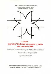 L'Autre : journée d'étude sur les auteurs et sujets des concours 2006