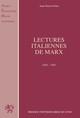 Les interprétations de la pensée de Marx depuis Gramsci