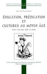 Éducation, prédication et cultures au Moyen Âge