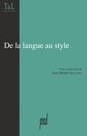 De la langue au style
