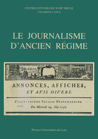 Réimpressions et diffusion de la Gazette dans les provinces : 1631 - 1752