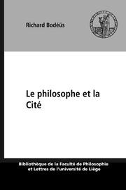 Le philosophe et la Cité