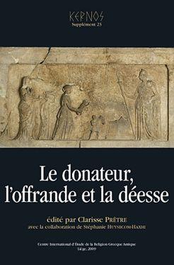 Le donateur, l'offrande et la déesse