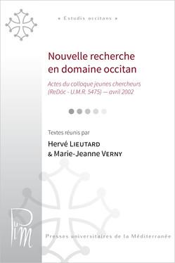 Nouvelle recherche en domaine occitan