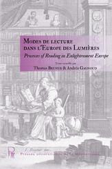 Modes de lecture dans l'Europe des Lumières