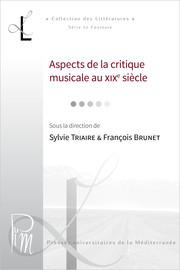 La critique chorégraphique au XIXesiècle